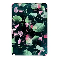 Modern Green And Pink Leaves Samsung Galaxy Tab Pro 10 1 Hardshell Case by DanaeStudio