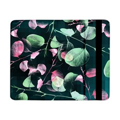 Modern Green And Pink Leaves Samsung Galaxy Tab Pro 8.4  Flip Case
