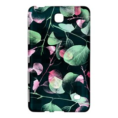 Modern Green And Pink Leaves Samsung Galaxy Tab 4 (7 ) Hardshell Case