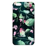Modern Green And Pink Leaves iPhone 6 Plus/6S Plus TPU Case