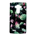 Modern Green And Pink Leaves LG G4 Hardshell Case