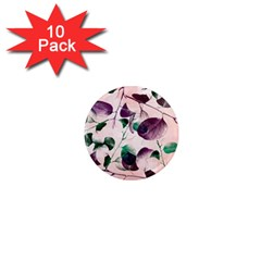 Spiral Eucalyptus Leaves 1  Mini Magnet (10 Pack)  by DanaeStudio