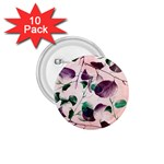 Spiral Eucalyptus Leaves 1.75  Buttons (10 pack)
