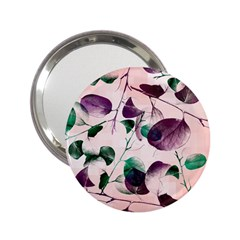 Spiral Eucalyptus Leaves 2 25  Handbag Mirrors by DanaeStudio