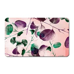 Spiral Eucalyptus Leaves Magnet (rectangular) by DanaeStudio