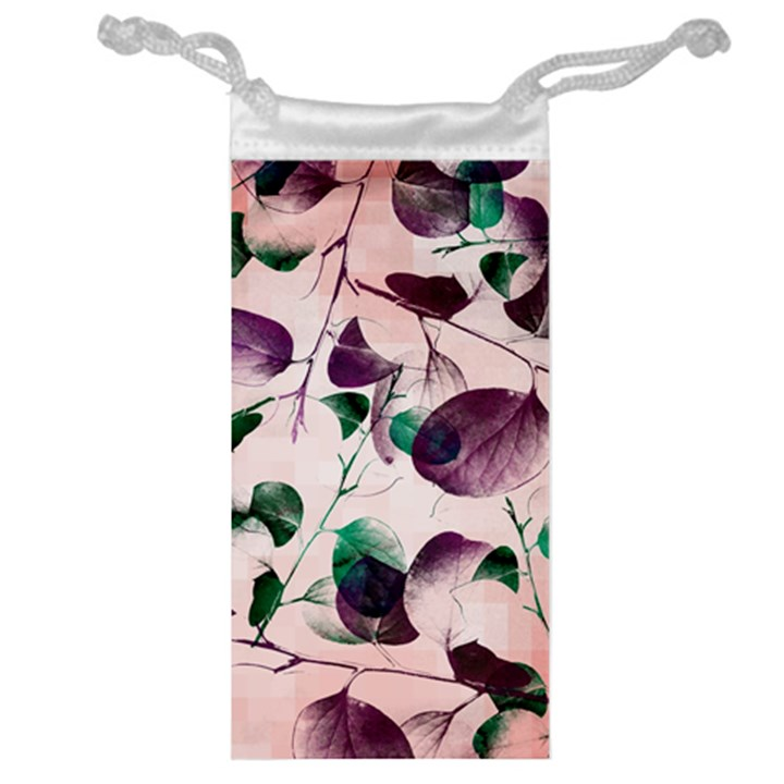 Spiral Eucalyptus Leaves Jewelry Bags