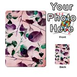 Spiral Eucalyptus Leaves Playing Cards 54 Designs  Front - Spade5