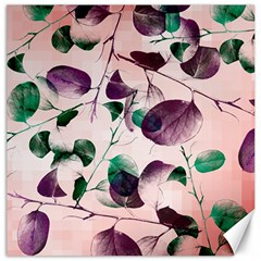 Spiral Eucalyptus Leaves Canvas 16  X 16   by DanaeStudio