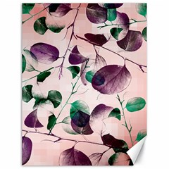 Spiral Eucalyptus Leaves Canvas 18  X 24   by DanaeStudio