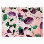 Spiral Eucalyptus Leaves Large Glasses Cloth (2-Side)