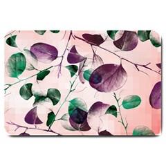 Spiral Eucalyptus Leaves Large Doormat