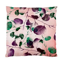 Spiral Eucalyptus Leaves Standard Cushion Case (two Sides) by DanaeStudio