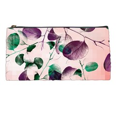 Spiral Eucalyptus Leaves Pencil Cases