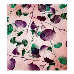 Spiral Eucalyptus Leaves Shower Curtain 66  X 72  (large)  by DanaeStudio