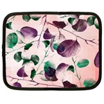 Spiral Eucalyptus Leaves Netbook Case (XXL)
