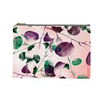 Spiral Eucalyptus Leaves Cosmetic Bag (Large)