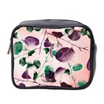 Spiral Eucalyptus Leaves Mini Toiletries Bag 2-Side
