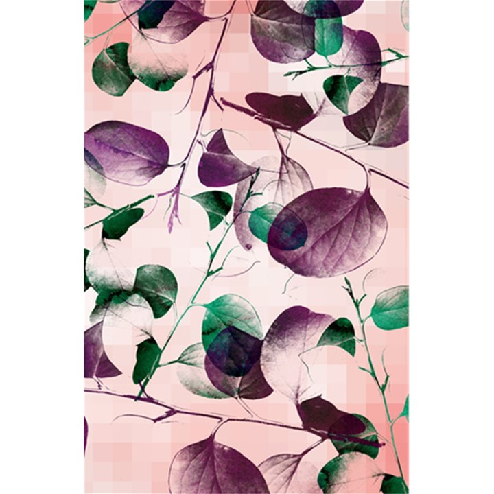 Spiral Eucalyptus Leaves 5.5  x 8.5  Notebooks