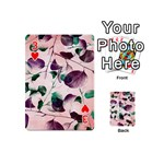 Spiral Eucalyptus Leaves Playing Cards 54 (Mini)  Front - Heart3