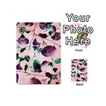 Spiral Eucalyptus Leaves Playing Cards 54 (Mini)  Front - Spade10