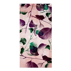 Spiral Eucalyptus Leaves Shower Curtain 36  X 72  (stall)  by DanaeStudio