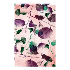 Spiral Eucalyptus Leaves Shower Curtain 48  X 72  (small)  by DanaeStudio