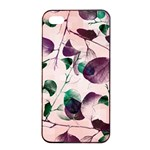 Spiral Eucalyptus Leaves Apple iPhone 4/4s Seamless Case (Black)