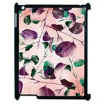 Spiral Eucalyptus Leaves Apple iPad 2 Case (Black)