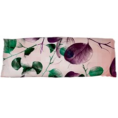 Spiral Eucalyptus Leaves Body Pillow Case Dakimakura (two Sides) by DanaeStudio