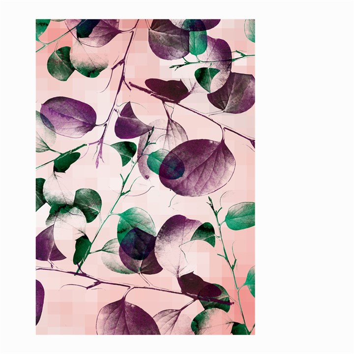 Spiral Eucalyptus Leaves Small Garden Flag (Two Sides)