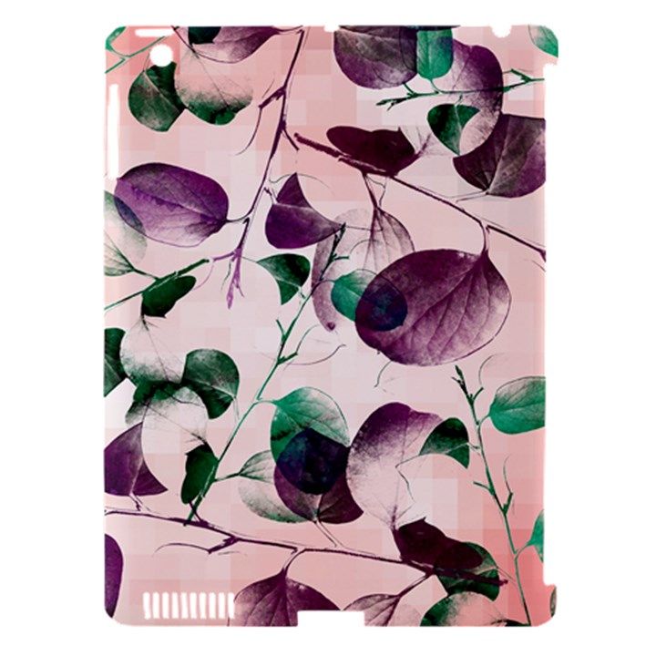 Spiral Eucalyptus Leaves Apple iPad 3/4 Hardshell Case (Compatible with Smart Cover)