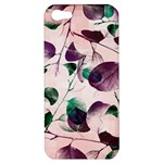 Spiral Eucalyptus Leaves Apple iPhone 5 Hardshell Case