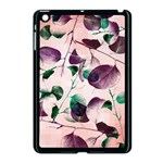 Spiral Eucalyptus Leaves Apple iPad Mini Case (Black) Front