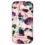 Spiral Eucalyptus Leaves Samsung Galaxy S3 S III Classic Hardshell Back Case Front