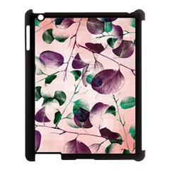 Spiral Eucalyptus Leaves Apple Ipad 3/4 Case (black) by DanaeStudio
