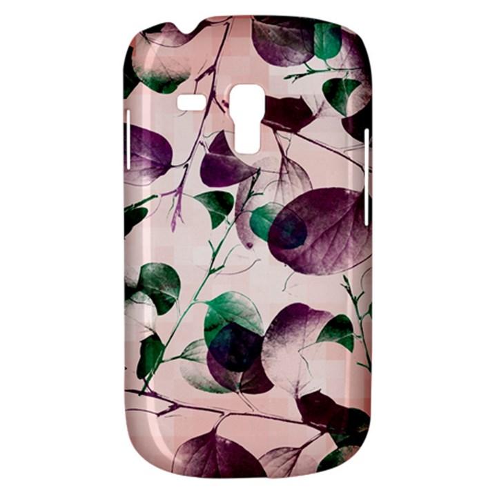 Spiral Eucalyptus Leaves Samsung Galaxy S3 MINI I8190 Hardshell Case