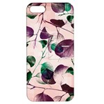 Spiral Eucalyptus Leaves Apple iPhone 5 Hardshell Case with Stand