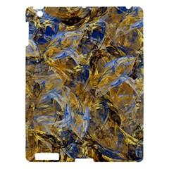 Antique Anciently Gold Blue Vintage Design Apple Ipad 3/4 Hardshell Case