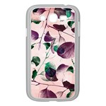 Spiral Eucalyptus Leaves Samsung Galaxy Grand DUOS I9082 Case (White)