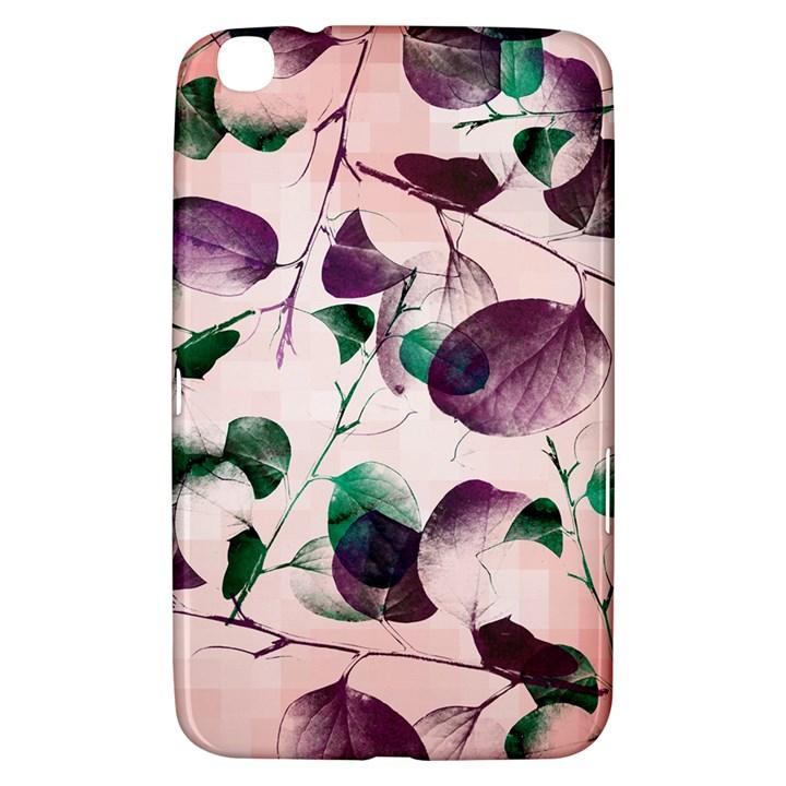 Spiral Eucalyptus Leaves Samsung Galaxy Tab 3 (8 ) T3100 Hardshell Case