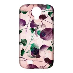 Spiral Eucalyptus Leaves Samsung Galaxy S4 Classic Hardshell Case (pc+silicone) by DanaeStudio