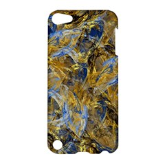 Antique Anciently Gold Blue Vintage Design Apple Ipod Touch 5 Hardshell Case by designworld65