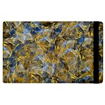 Antique Anciently Gold Blue Vintage Design Apple iPad 2 Flip Case