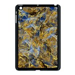 Antique Anciently Gold Blue Vintage Design Apple iPad Mini Case (Black)