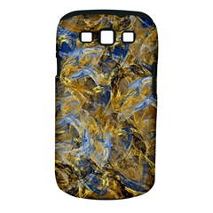 Antique Anciently Gold Blue Vintage Design Samsung Galaxy S Iii Classic Hardshell Case (pc+silicone) by designworld65