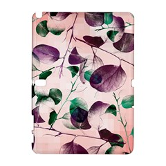 Spiral Eucalyptus Leaves Samsung Galaxy Note 10 1 (p600) Hardshell Case by DanaeStudio