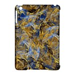 Antique Anciently Gold Blue Vintage Design Apple iPad Mini Hardshell Case (Compatible with Smart Cover)