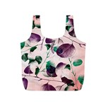 Spiral Eucalyptus Leaves Full Print Recycle Bags (S)