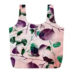 Spiral Eucalyptus Leaves Full Print Recycle Bags (L)