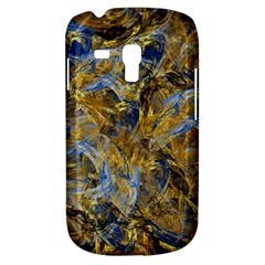 Antique Anciently Gold Blue Vintage Design Samsung Galaxy S3 Mini I8190 Hardshell Case by designworld65